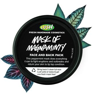 resenha máscara facial LUSH